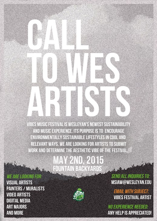 VMF call to artists