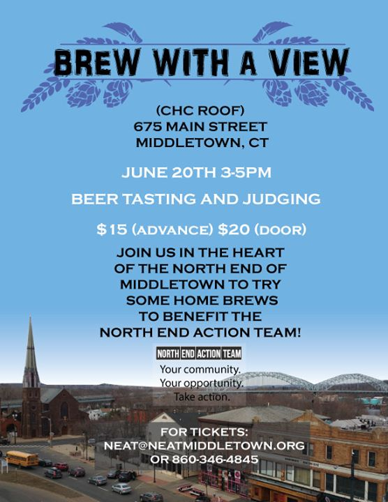 Brew With a View - NEAT and Community Health Center