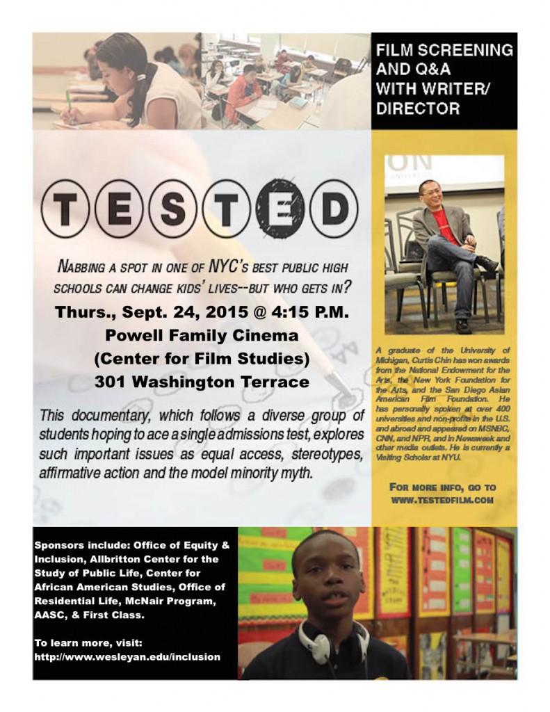 Wes U Screening Tested 2015 final