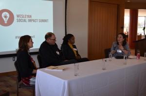 Sharon Greenberger, Tim Freundlich, Melinda Weekes-Laidlow, and Sarah Williams