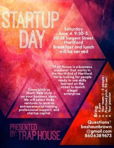 Startup Day flyer