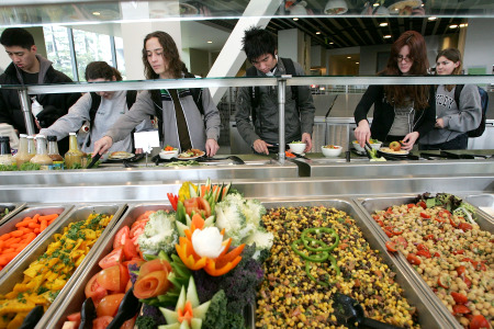 College is a buffet of experience. Be careful how much you put on your tray. (Photo credit: The Atlantic)