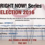 Right Now! Series: Election 2016