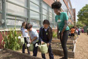 NY_Bronx_2016-06_Jamisha Williams kids watering cans