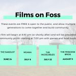 Films on Foss – Summer 2017