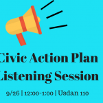 Civic Action Plan Listening Session