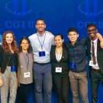 5 Wesleyan Students Attend Clinton Global Initiative University in Chicago, IL