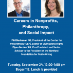 Careers in Nonprofits, Philanthropy, and Social Impact