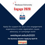 E2020 Summer Session Funding Support Application Now Open