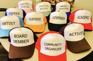the many hats of changemaking