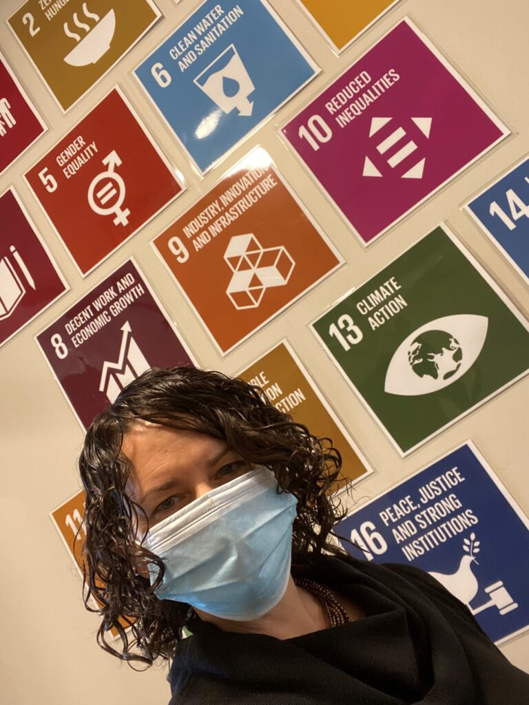 Makaela Kingsley and the UN Sustainable Development Goals