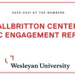 Allbritton Center Civic Engagement Report 2020-2021