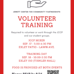 JCCP Volunteer Training